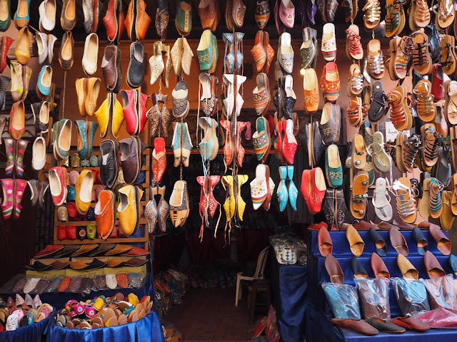 Leather slippers Marrakech