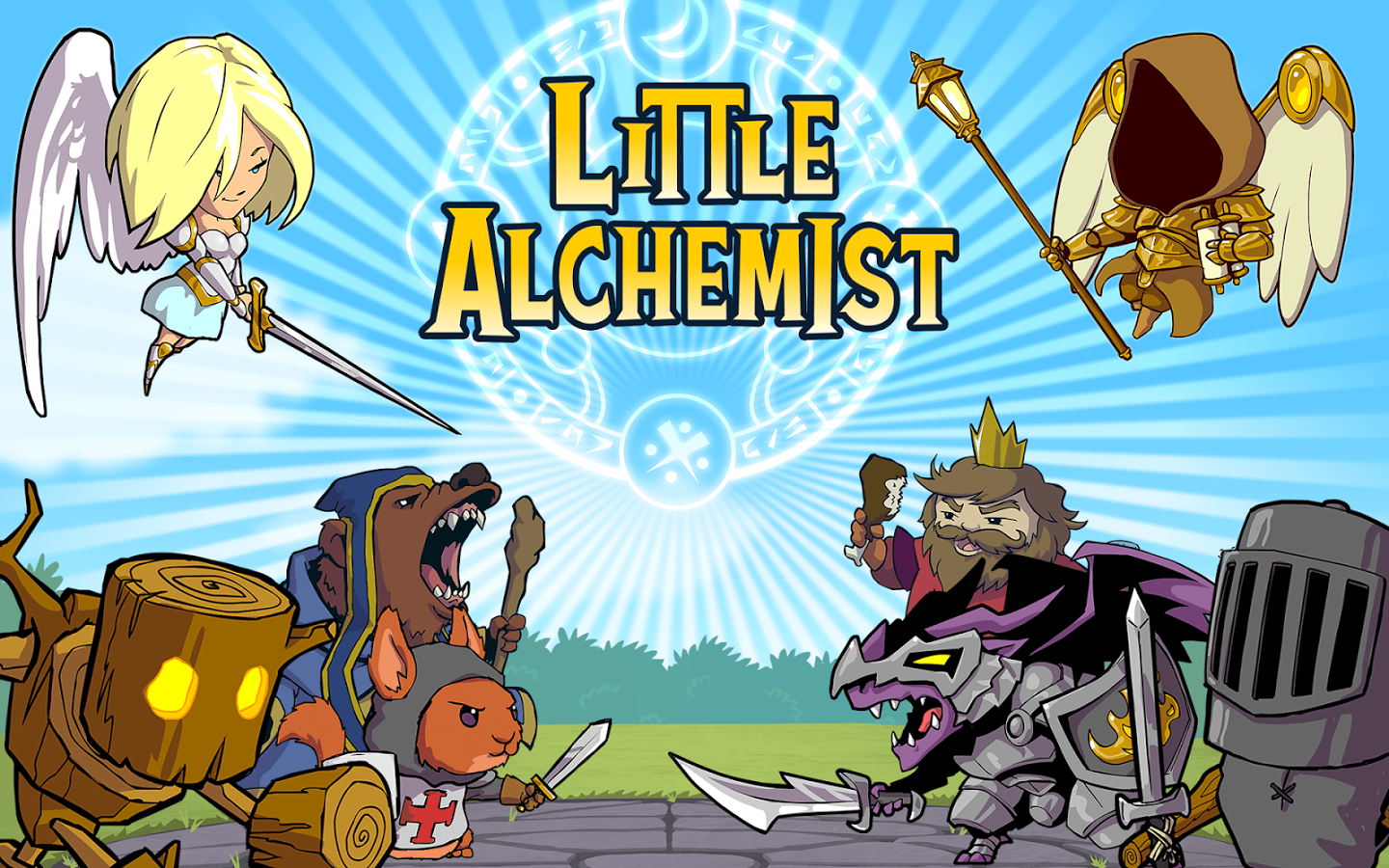 mobile game reviews and cheats online: Little Alchemist ...