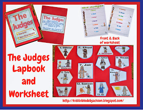 http://kidsbibledebjackson.blogspot.com/2013/11/the-old-testament-judges-bulletin-board.html