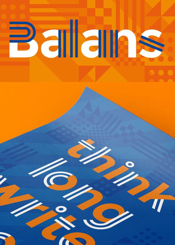 Balans Free Font