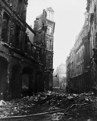El bombardeo de Londres en la Segunda Guerra Mundial