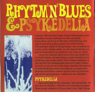 Norsk Rocks Historie Vol. 4 - Rhythm 'n' Blues & Psykedelia (1966-1969)