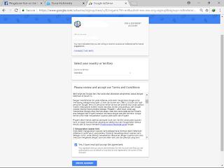 Cara membuat akun google adsense non hosted Full Approve terbaru