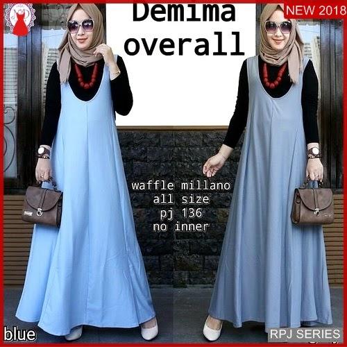 RPJ053D124 Model Dress Demima Cantik Overall Wanita
