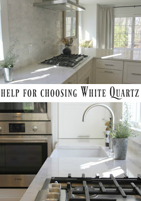 Need help choosing the best white quartz countertop for your kitchen or bath design project? Come read about my journey in finding the perfect white quartz...this is not a sponso red post, just my personal kitchen story. #quartz #minuet #kitchendesign