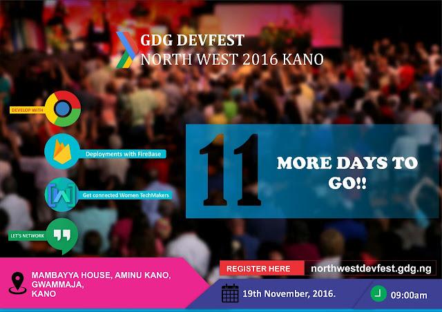 GET READY FOR GDG NORTHWEST DEVFEST 2016 THIS NOVEMBER
