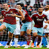 Cuplikan Gol Swansea City vs West Ham United 1-4