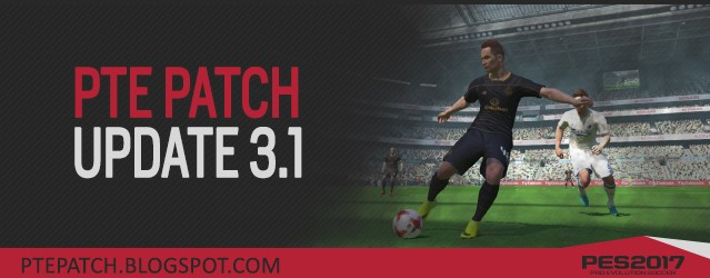 PES 2017 PC : PTE Patch V3.1 Update