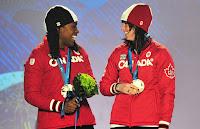 Equipo Canadiense femenino medalla de oro Vancouver 2010