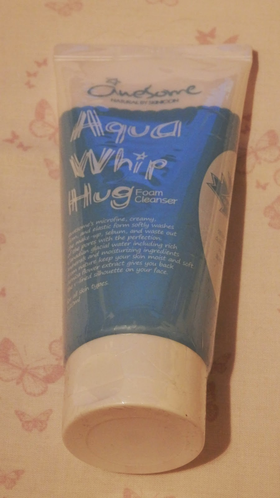 Memebox Special #13 Cooling Care Awesome Aqua Whip Hug Foam Cleanser