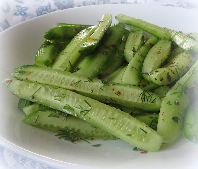 Dilled Cucumber Spears