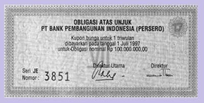 contoh obligasi, gambar obligasi, contoh obligasi syariah
