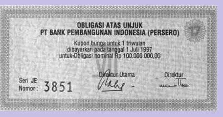 Apa Itu Obligasi Petunjuk Onlene