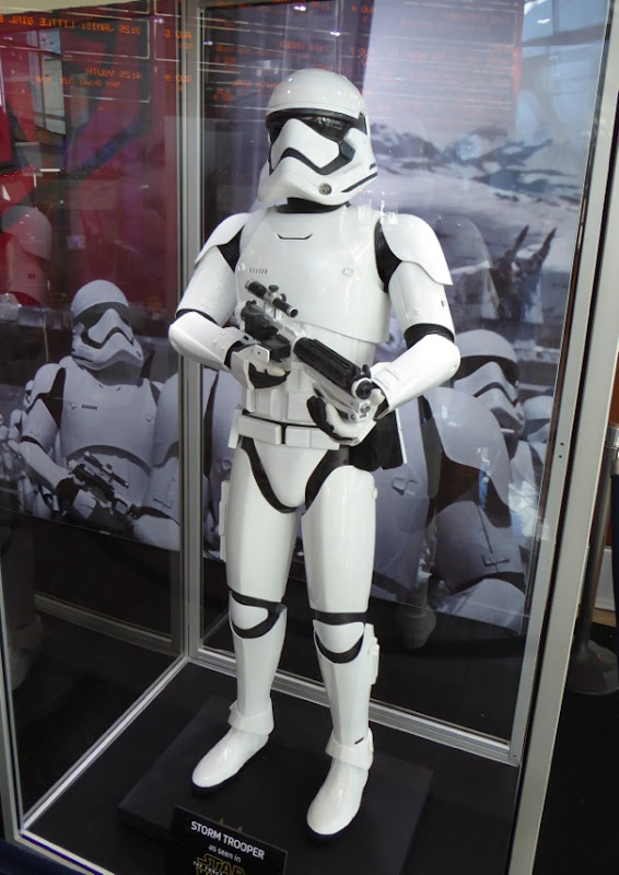 Star Wars Force Awakens Stormtrooper costume blaster