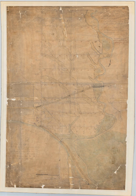 1811 Wilmot Copy of Part of Plan of York: Survey of the land Reserved for Government Buildings
