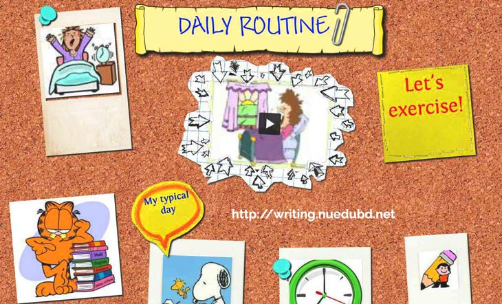 daily routine essay for university students program
