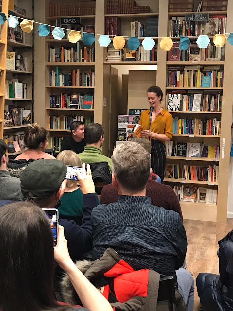 I was so full of emotions at my book launch party