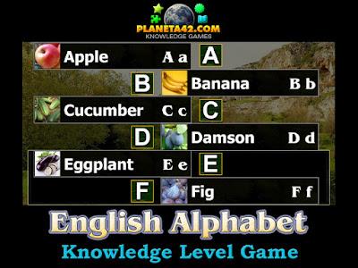 Free English Alphabet Puzzle