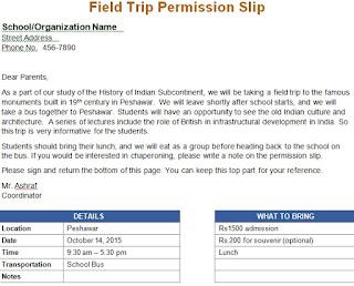 Enchanting field trip announcement template elaboration resume field trip announcement template costumepartyrun maxwellsz