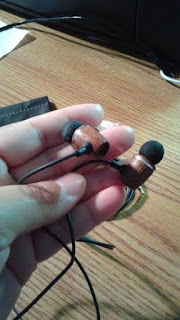 FSL Xylem Wood Earbuds with Microphone and Remote - Corded Headset :Review-A Little Bit Of Something-Great pair of earphones with assorted size of soft silicone tips. Great for your out door walking or just for listening music.
