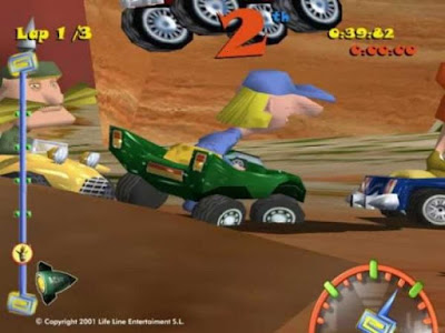 Download Toon Car Highly Compressed Game For PC