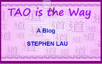 <b>TAO IS THE WAY</b>