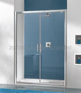 zuhanykabin ajtaja