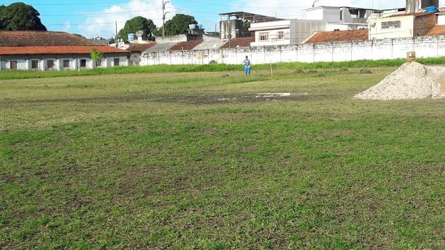 Campo da UPE segue passando por melhorias