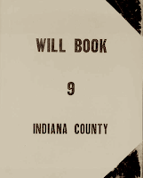 Will Book, Indiana County, Pennsylvania