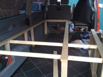 Speedsurfing News Building The Van Interior For Camping