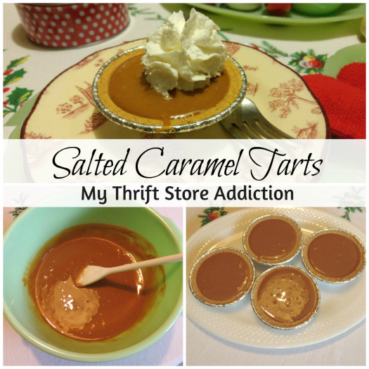 salted caramel tarts