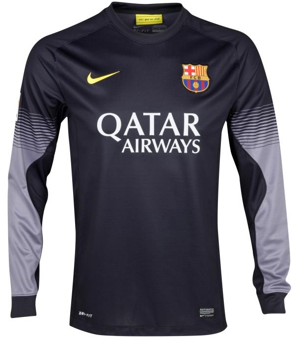 187153abdb Camiseta Portero Nike del FC Barcelona 2013-14 - Nuevo Fútbol