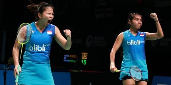 Perempat Final Badminton Ganda Putri Olimpiade 2016