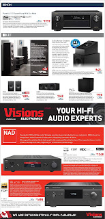 Visions electronics flyer valid October 22 - 28, 2021