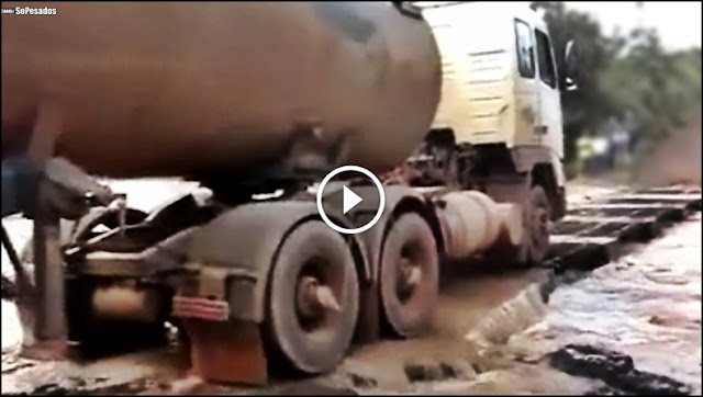 caminhões ao extremo