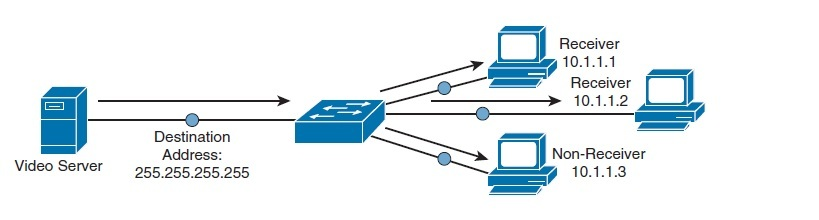 NetSysHorizon: Network Traffic Types - Unicast Broadcast