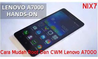 Cara Mudah Root Dan CWM Lenovo A7000