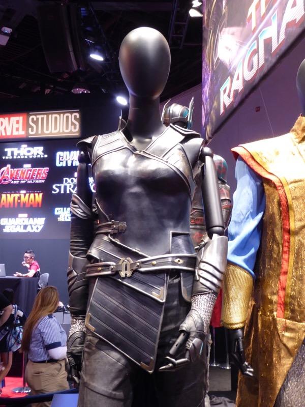 Tessa Thompson Thor Ragnarok Valkyrie costume