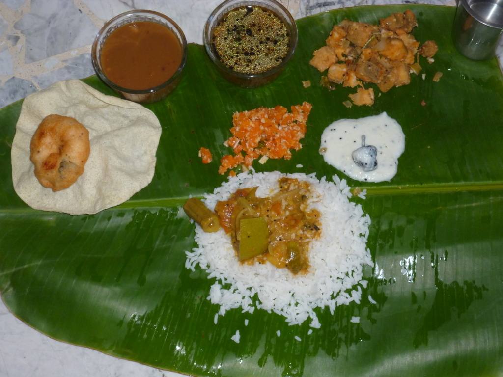 Cooking in paris opos south indian veg thali opos recipe here long weekendso prepared southindian veg full meals and served it in banana leafds are enjoyed to eat in banana leaf forumfinder Choice Image