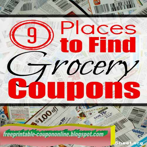 Free coupons nz grocery