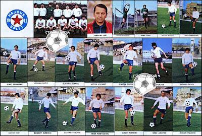 Hajduk Split album sličice Fudbaleri i Timovi 1978/79
