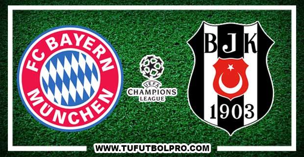 Ver Bayern Munich vs Besiktas EN VIVO Por Internet Hoy 20 de febrero de 2018