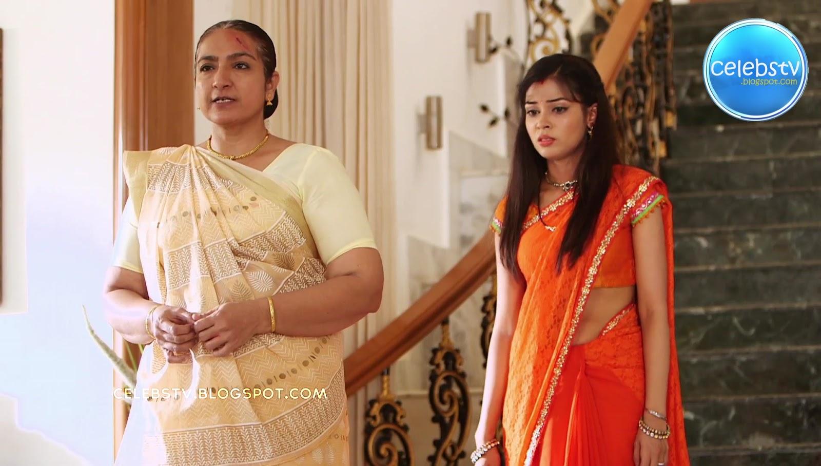 Hot Tv Serial Actress From Savdhaan India Bare Navel Show -9069