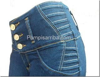 Mayoréo de jeans para dama pompis arriba jeans Ciclón frida but lifter Issa jeans