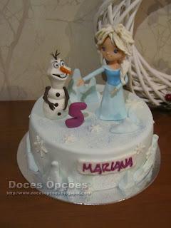 frozen ice cake