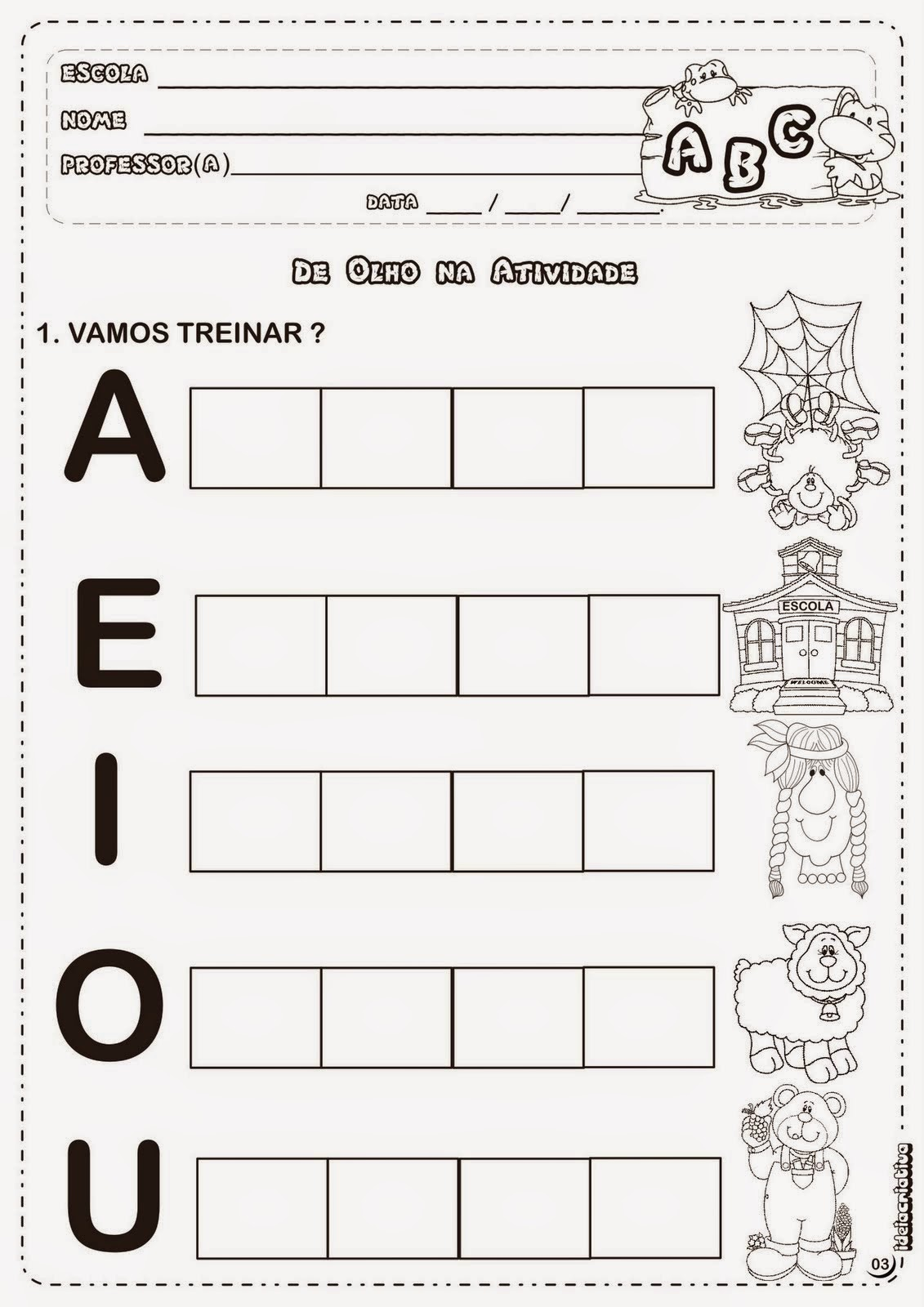 Preferência Atividades de Português 1° ano — SÓ ESCOLA DD94