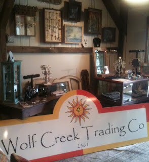 The Sun Has Come To Wolf Creek Trading Company Adorning Our New Logo And Sign Too With Comes Color On In Carriage House Gallery