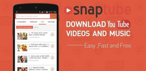 SnapTube - YouTube Downloader HD Video v4.9.0.8612 (VIP) Full