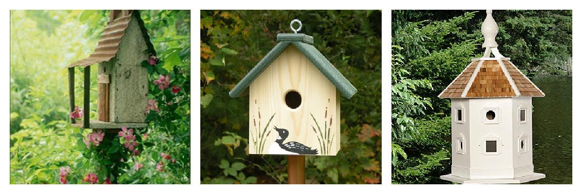 spesso tra orto e giardino: casette per uccelli MU68