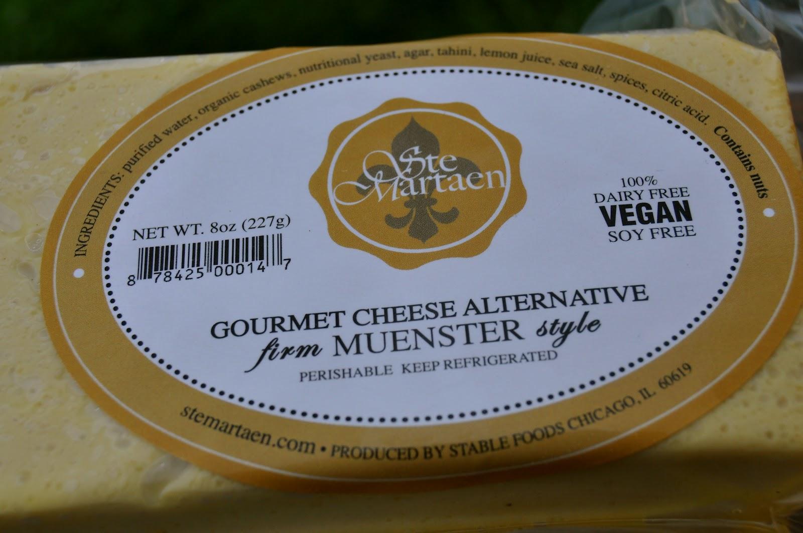 Ste Martaen Vegan cheese review - Green-Mom com